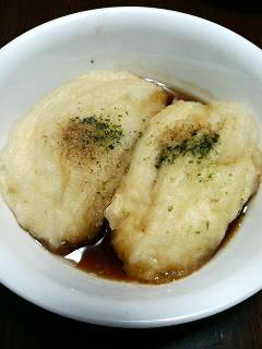 揚げ出し豆腐①